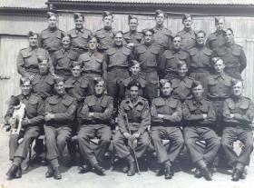 1st Para Brigade (or possibly 11 SAS?). All orig cap badge with Pegasus Badge on arm. Officer has MC Ribbon.