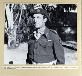 Portrait of Major General E.L Bols