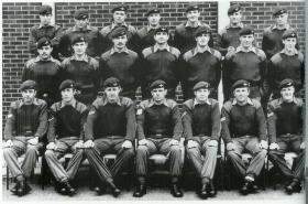 Mortar Platoon,1 PARA, Palace Barracks, Northern Ireland, 1972.