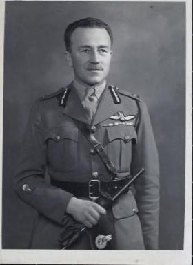 Portrait of Major-General Hopkinson