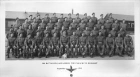 Members of 13th Battalion (Lancashire) The Parachute Regiment, September 1944.