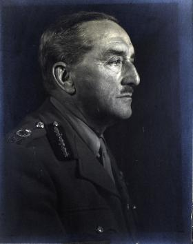 Side Portrait of Field Marshall Alan Alanbrooke