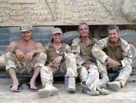 Forward Operating Base Edinburgh, Herrick VIII, Afghanistan 2008.