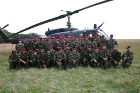 Members of 144 Para Med Sqn,Duren DZ Germany, 2005