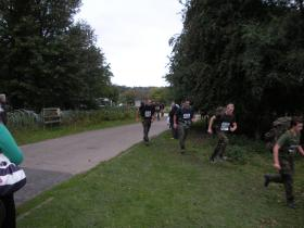 Paras 10 11/9/11. Time of 1hr 55min. Raised money for Para Regt Charity. Entered for next year