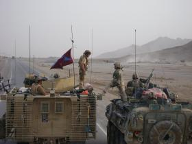 15 Air Assault liaise with Canadians near Kandahar City, Afghanistan, 2008