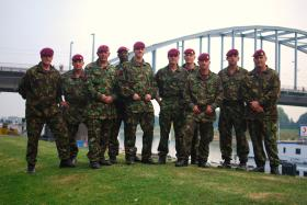 15 AA CS Sqn at Arnhem Bridge, Sept 09