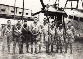 8 Man Officer Stick, 151 Battalion, 1941