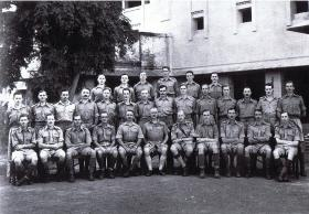 Officers 151 Parachute Battalion, at Delhi Cantonments, 1942.
