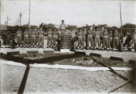 A detachment of 159th Parachute Light Regiment with equipment, 1946