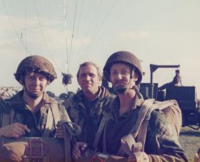 Members of 16 Lincoln Coy prior to balloon jump, West Common Lincoln, 3 September 1977