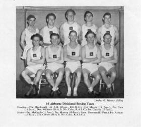 16 Airborne Division Boxing Team 1953