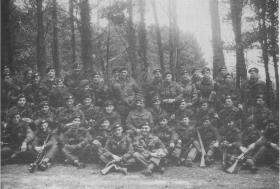 Members of 16 Lincoln Coy at Annual Camp, Dumbell Copse Bulford, 1952.