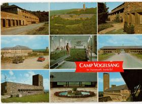 Camp Vogelsang 'Wish you were here' Post Card 1970s