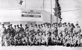 16th Independent Parachute Brigade Signal Squadron Jordan 1958