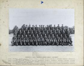 Group Photograph of Corporals' Mess, Airborne Forces Depot