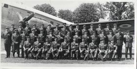Group Photograph of the Officers' Mess, the Airborne Forces Depot, 1973