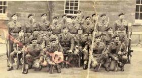 A recruit intake - probably Platoon Intake 167, 1959