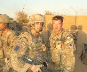 L/Cpl Kyle Marshall in Afghanistan, Op Herrick VIII.