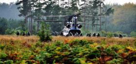 2 PARA take part in Ex Active Eagle at Rock Barracks in Woodbridge, October 2013.