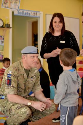 The new nursery for the Army Base at Wattisham Flying Station, March 2014.