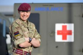 Double recognition for sporting soldier, Pte Preston, 28 November 2014.