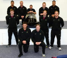 Paratroopers take on bobsleigh challenge, 8 December 2014.