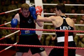 3 PARA at the Army Major Units Boxing Championship, 11 February 2015.