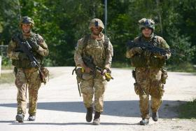 Paratroopers show Swift Response in Germany, 1 September 2015.