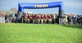 PARAS' 10 charity challenge in Colchester, 15 November 2015.