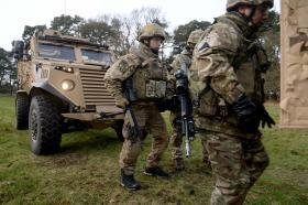 Gurkhas prepare for Kabul mission, February 2016