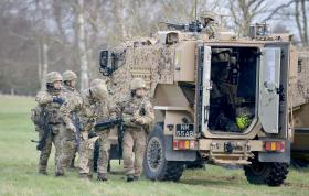 Gurkhas prepare for Kabul mission, February 2016
