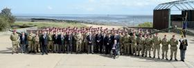 Airborne gunners mark 300 years of Royal Artillery, May 2016.