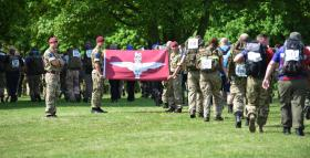 Public take on Paras' fitness challenge, Sunday 15 May 2016.