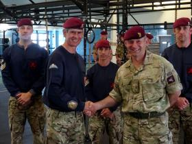 New gym to keep soldiers fighting fit, July 2016.