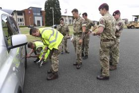 13 AA Sp Regt RLC Driving Safety Day , September 2016.