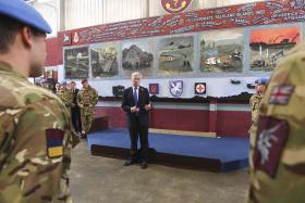 Airborne Medics Prepare for South Sudan, 31st October 2016.