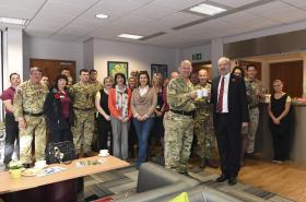 New café for Colchester's military community opens 31 October 2016.