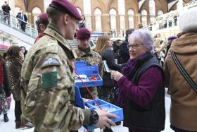 16 Air Assault Brigade supports London Poppy Day, 3 November 2016.