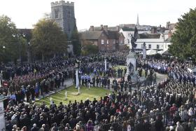 16 Air Assault Brigade marks Remembrance Sunday, 13 November 2016.