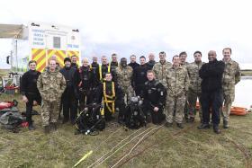 Exercise Eagles Fire, 23 Parachute Engineer Regiment, November 2016.
