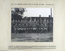 Group Photograph of visit by Major General Browning, to the Airborne Forces Depot and School, 1942
