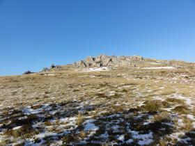 North West slope, Mount Longdon, 11 June 2012.