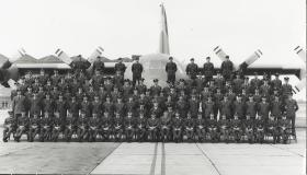 Group Photograph of No.1 Pilots at Abingdon, 1975