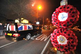 The Repatriation of L/Cpl Marshall, Ptes Hendry and Lewis, February 2011
