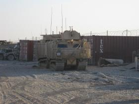 Warthog Armoured Vehicle, Afghanistan, 2011
