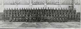 Group Photograph of Parachute Training Course 280