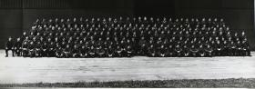Group Photograph of Parachute Training Course 2 TA 1950