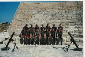 Mortar Platoon 1 PARA Cyprus 1990
