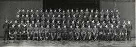 Group Photograph of Parachute Training Course, 1950